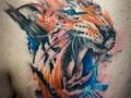 abstract-tiger
