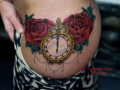 trad-clock-and-roses